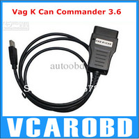 Wholesale Vag Can Commander Full - from Yoga YU VAG Diagnostic tool Full vag k can 3.6 OBD II Odometer tool Vag KCAN COMMANDER For VW Skoda Seat