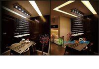 lüks otel kolye lambaları toptan satış-K9 Kristal Avizeler Işık ile Modern Dekoratif Güzel Kolye ve LED Lambaları Diningroom Yatak Odası veya Otel Avize için Lüks