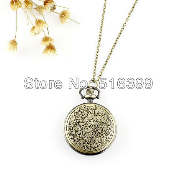 New Arrival Wave Spoondrift Design Vintage Aulic Middle Size Pocket Watch for Women and Men