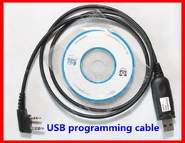 Wholesale Walkie Talkies Programming Cable - Walkie Talkie USB radio Programming Cable for radio transmitter BAOFENG UV-5R UV82 BF-888S uv-b5 uv-b6 wouxun kg-uvd1p puxing