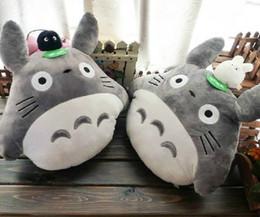 "Wholesale Cartoon Toy Pillow - 16"" Totoro Plush Toys Cushion Stuffed Plush Pillow Cartoon soft plush toy doll 40cm Free shipping"