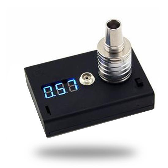 2015 Ohm medidor de componentes electrónicos para Ecig 510 Atomizador de hilo Rda Rba Probador / verificador / lector en caja de regalo Paquete Negro Plástico Dhl / fedex