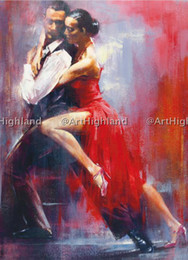 Wholesale Vintage Ship Oil Painting - Free Shipping,0582#,Lots Wholesale, Hand Painted Vintage Portrait Oil Paintings on Canvas Lover Tango Dance,Any customized size accepted