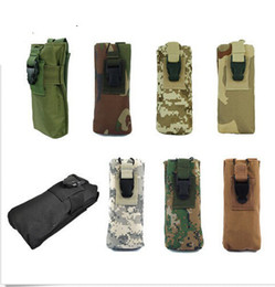 Wholesale Cell Stuff - Molle PRC 148 MBITR Radio Walkie Talkie Open Close Radio Pouch Bag for Airsoft Paintball Army