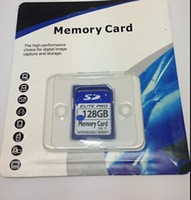 Wholesale Memory Card Elite Pro - NEW 128GB 64GB SDHC ELITE PRO FLASH MEMORY CARD HIGH SPEED 3.3V HD MOVIE STORAGE 128g 64g SDXC SDHC Class 10 Card