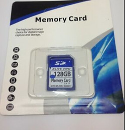 Wholesale Secure Digital Sd Memory Card - NEW 128GB 64GB SDHC ELITE PRO FLASH MEMORY CARD HIGH SPEED 3.3V HD MOVIE STORAGE 128g 64g SDXC SDHC Class 10 Card