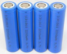 Wholesale Mod Battery Telescope - Fedex DHL vape 18650 battery 2200mah for electronic cigarette Mod H100 K100 K200 ego vv e cigarette Vmax e cigs Telescope series Lavatube