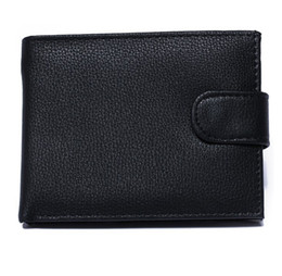 Wholesale Bit Coins - Business fashion license men Genuine leather wallet short 3 fold Credit card bit foreign trade casual versatile purse wallets free shipping