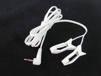 Wholesale Electric Bdsm - BDSM Gear Accessories 2.5mm Electric Shock Nipple Finger Ear Labia Clips Clamps for DIY Kit Adult Sex Toys