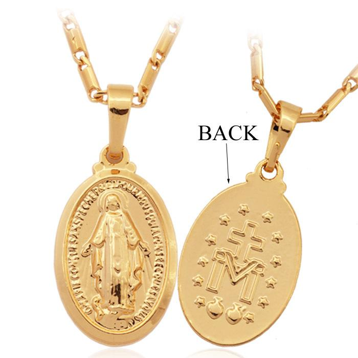 Wholesale virgin mary necklace womenmen jewelry sale 2014 new 18k wholesale virgin mary necklace womenmen jewelry sale 2014 new 18k real gold plated mother of god cross necklaces pendants 7vogue p357 mom pendant necklace aloadofball Choice Image