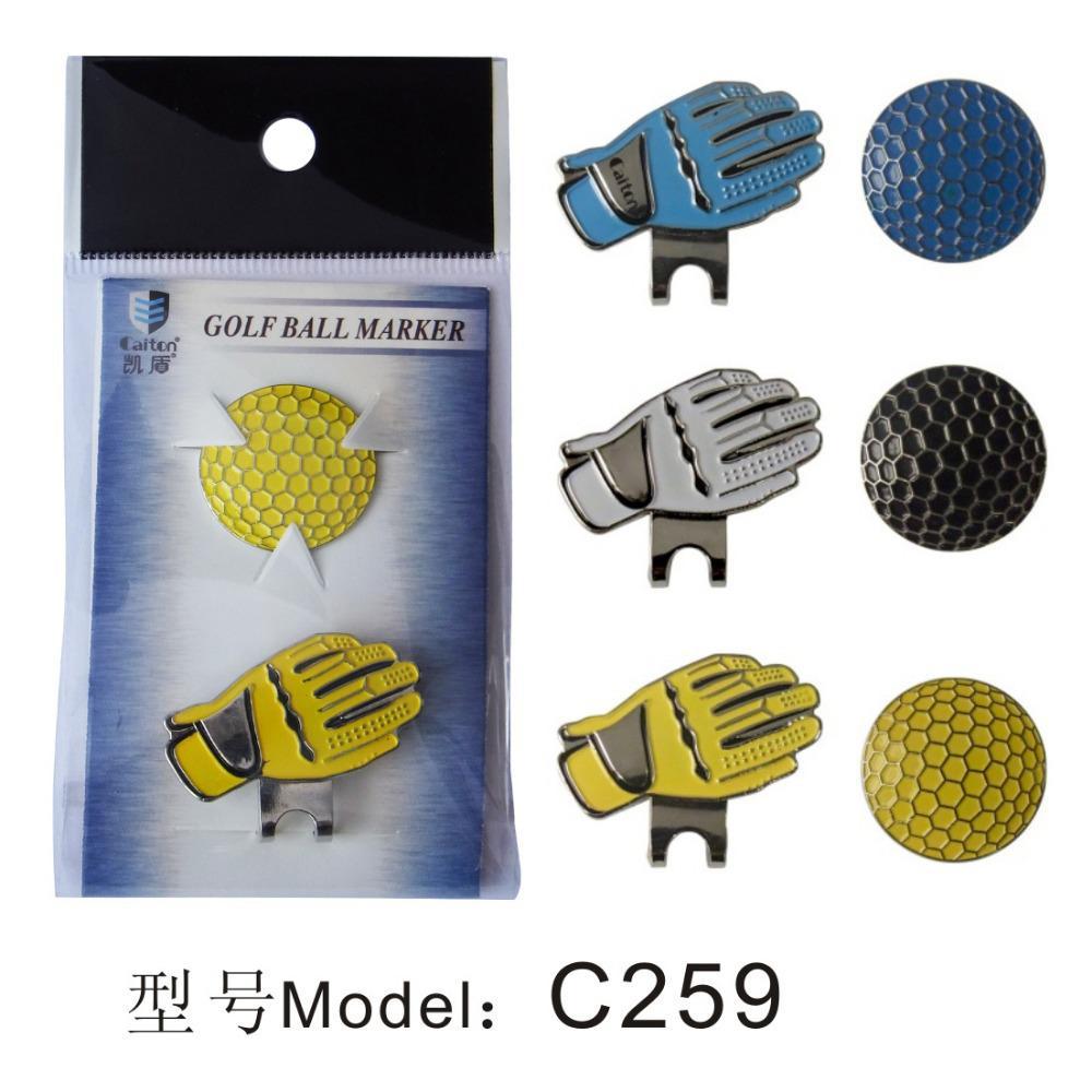 acheter marqueurs de balle de golf avec clips cap marque. Black Bedroom Furniture Sets. Home Design Ideas