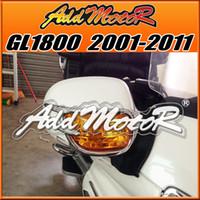 Wholesale Chrome Fairings - Addmotor Chrome Goldwing For Fairing Honda GL1800 2001-2011 GL 1800 01-11 Mirror Back Accent Grilles GL1806