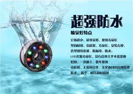 9w Pool Canada - 3 years warranty Free shipping IP68 RGB LED fountain light LED pool light Led underwater light 6W 9W 12W 18W DC12V AC85-265V