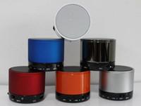 mini haut-parleur bluetooth s11 achat en gros de-Haut-parleurs Bluetooth S10 S11 Mini haut-parleurs portables sans fil Lecteur de musique HI-FI Audio domestique pour iphone 5 iphone 4 Lecteur MP3