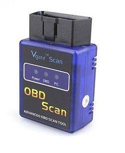 원래 Vgate 미니 ELM 327 블루투스 버전 1.5 OBD 스캔 PC PDA 모바일 용 Elm327 BT 진단 문제 코드 읽기