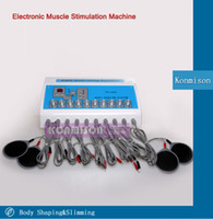 Wholesale Electronic Muscles Stimulator - Muscle Stimulator Body Shaping Slimming Machine BIO Electronic Muscle Massager For Weight Loss Lymphatic Drainage for home and beauty salon