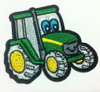 Wholesales 10 Pieces GreenTruck Kid Patch (7. 5 x 6 cm) Embro...