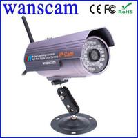 Wholesale Lens Webcam Wifi - Plug&Play Lens 6mm Wireless WiFi IP Webcam Camera Outdoor Waterproof IR Night Vision Network CCTV Home Security Internet Camera