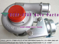 Wholesale Turbocharger For Hyundai - TF035 2823127800 4913507301 4913507302 4913507300 4913507100 28231 27800 49135 07301 49135 07302 07300 07100 Turbo For HYUNDAI Santa Fe 2.2L