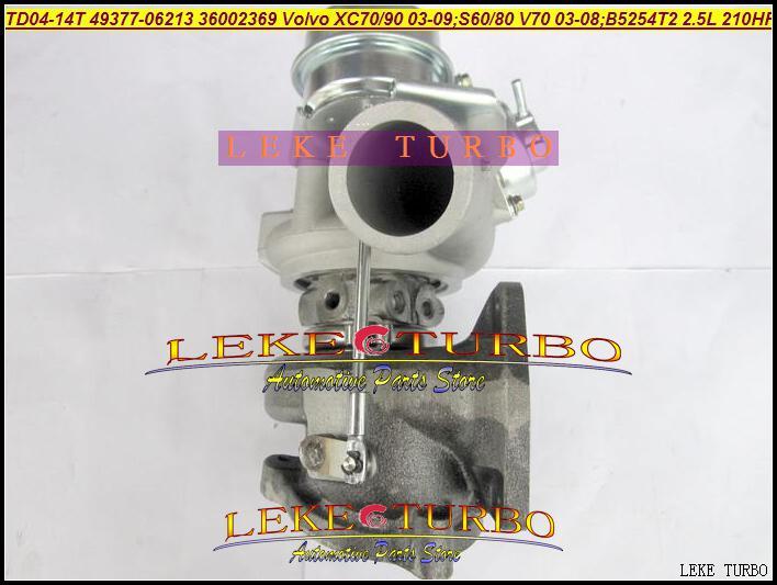 Großhandels NEUES TD04-14T 49377-06213 36002369 Turbo-Turbolader für Volvo Volvo-PKW XC70 XC90 2003-2009 B5254T2 2.5T 2.5L 210HP