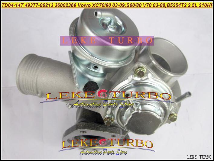 Wholesale New TD04-14T 49377-06213 36002369ボルボVolvo-PKW XC70 XC90 2003-2009 B5254T2 2.5T 2.5L 210HP用ターボターボチャージャー