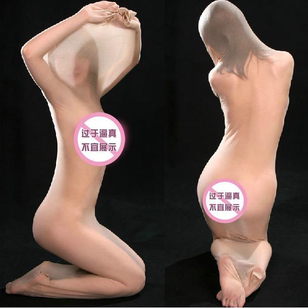 00a69d782 Ultra-thin Transparent Full-body Stockings Men s Women s Tight ...