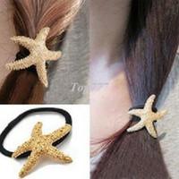 alışveriş moda mücevherleri toptan satış-moda güzel Denizyıldızı yıldız saç bandı saç tokası saç Aksesuarları takı! crylSTAL sHOP