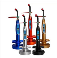 Wholesale Dental Led Lamp Wireless - Optional 1500mw Dental Wireless Cordless LED Curing Light Lamp LY-A180