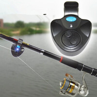 Wholesale Cast Fishing Rod - Ocean Casting Rod Fishing Alarm Fish Hit Alertor Electronic Buffer Ring