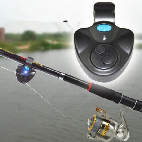 top popular Ocean Casting Rod Fishing Alarm Fish Hit Alertor Electronic Buffer Ring 2021