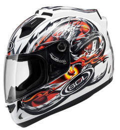 Wholesale Import Safety - Free Shipping Genuine Taiwan imported SOL racing motorcycle helmet motorcycle full helmet with LED safety 001