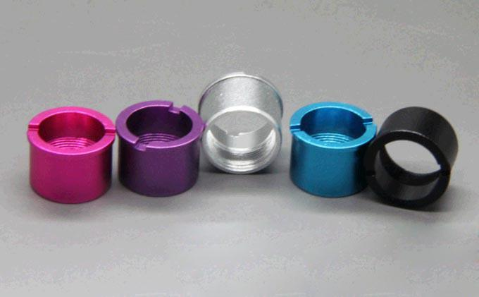 ViVi Nova Colorful Connector Ring Aluminum ego battery thread cone collar rings for DCT Mini Vivi Adapter Ring to eGo-T Twist EVOD Battery