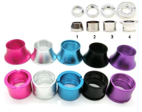 Vivi Nova Färgglada kontaktring Aluminium Ego Batteri Trådkon Ringar Ringar för DCT Mini VIVI Adapter Ring till EGO-T Twist EvoD batteri