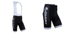 Pantalones cortos de babero GIGANTE 2014 Equipo Profesional Ciclismo Shorts Montar Bicicleta Ropa Ciclismo Bicicleta 3D acolchado Coolmax Gel Shorts Fitness en venta