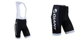 Wholesale Team Cycling Shorts Men - GIANT bib shorts 2014 Team Professional Cycling Shorts Riding Bicycle Ropa Ciclismo Bike 3D Padded Coolmax Gel Shorts Fitness