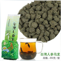 Wholesale 500g bags Famous Health Care Tea Taiwan Dong ding Ginseng Oolong Tea Ginseng Oolong ginseng tea