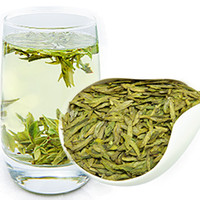 Wholesale chinese tea longjing resale online - 250g Dragon Well Chinese Longjing green tea the chinese green tea Long jing the China green tea for man and women health care