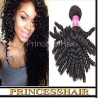 Wholesale Cheap Hair Spirals - Cheap Brazilian Hair Bundles Spiral Curly Grade 6a Virgin Remy Hair Extension 3pcs lot DHL Free Shipping