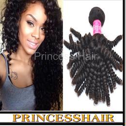 Wholesale Cheap Hair Spirals - Cheap Brazilian Hair Bundles Spiral Curly Grade 6a Virgin Remy Hair Extension 3pcs lot DHL Free Shipping