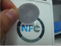 Wholesale Ordering Wholesale Products - 20pcs lot NFC Tags sticker for all NFC product NTAG213 android phone factory directly sale accept bulk order and print