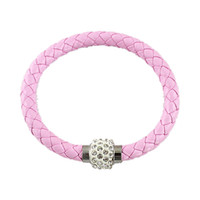 Wholesale Tennis Candy - 7 Candy Color Punk Rock Bracelets in New Summer Designer For Women