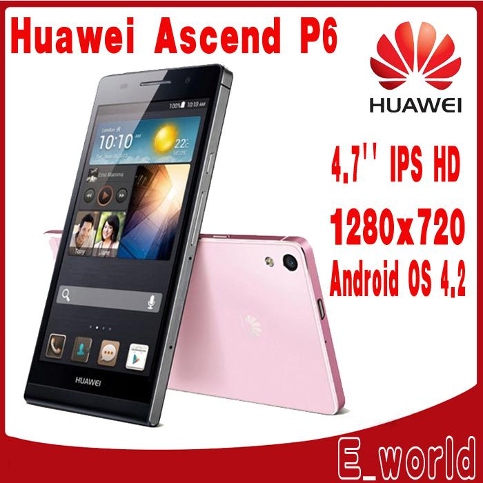 huawei phones price list p6. new year very low prices huawei ascend p6 u06 original 4.7\ phones price list n