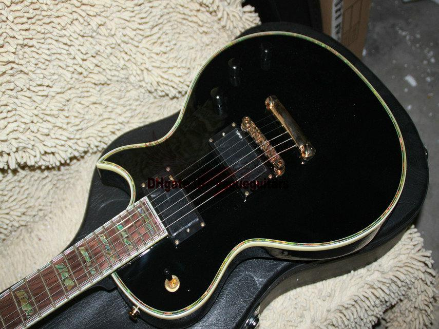 Black Ltd Custom Shop Electric Guitar Abalone Inlay Very Beauty Guitar From China HOT