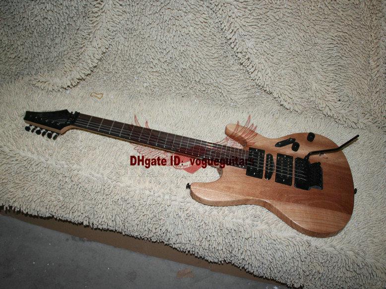 Новые пользовательские Естественный цвет электрической гитары Бесплатная доставка Лучшие музыкальные инструменты