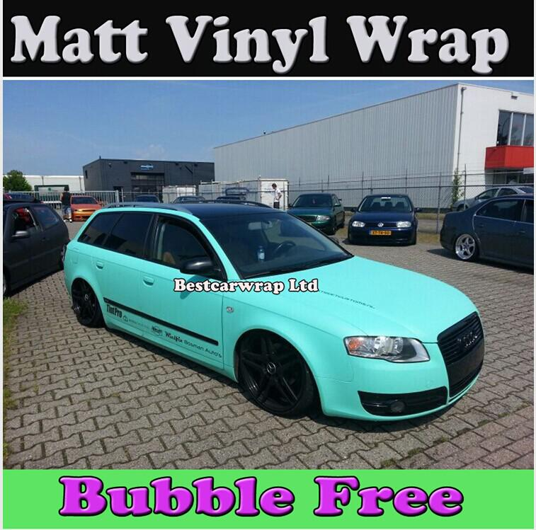 c23703e12b Premium Matt Tiffany Blue Vinyl Car Wrapping Film With Air Bubble ...