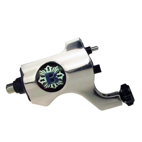 Bishop Rotary Tattoo Machine Gun RCA Connection Silver Color For Tattoo Needle Ink Cups Tips Kits 8 colors can choose