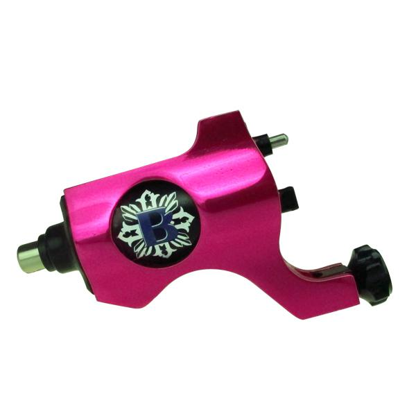 Rose Pink Bishop Rotary Tattoo Machine Gun RCA Connection For Tattoo Needle Ink Cups Tips Kits 8 colors can choose