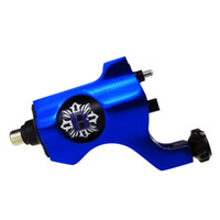 Wholesale Rca Blue - Bishop Rotary Tattoo Machine Gun RCA Connection Blue For Tattoo Needle Ink Cups Tips Kits 8 colors can choose