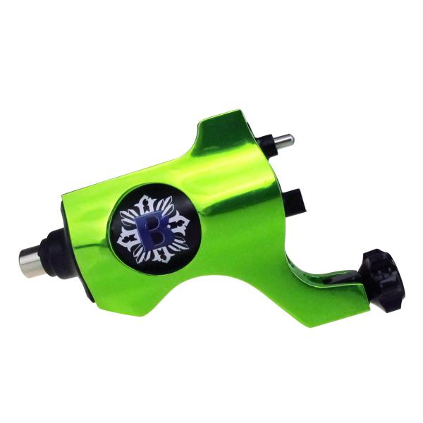 Green Bishop Rotary Tattoo Machine Gun RCA Connection For Tattoo Needle Ink Cups Tips Kits 8 colors can choose