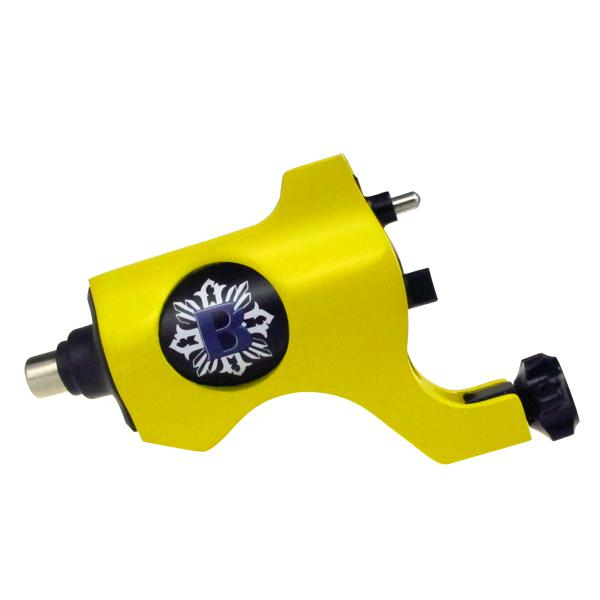 Yellow Color Bishop Rotary Tattoo Machine Gun RCA Connection For Tattoo Needle Ink Cups Tips Kits can choose